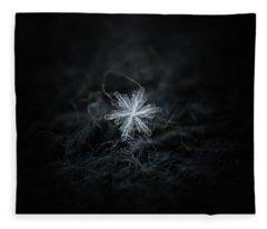 Real Snowflake - 18-dec-2018 - 3 Fleece Blanket