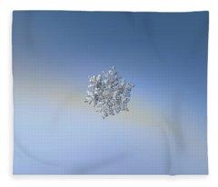 Real Snowflake - 05-feb-2018 - 17 Fleece Blanket