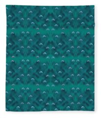 Dolphins Design Fleece Blanket