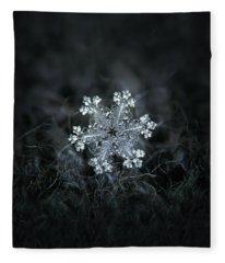 Real Snowflake - 26-dec-2018 - 1 Fleece Blanket