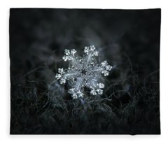 Real Snowflake - 26-dec-2018 - 1 Fleece Blanket