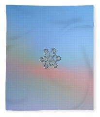 Real Snowflake - 10-jan-2019 - 1 Fleece Blanket
