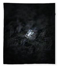 Real Snowflake - 27-jan-2019 - 1 Fleece Blanket