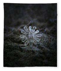 December 18 2015 - Snowflake 3 Fleece Blanket