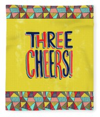 Three Cheers Fleece Blanket