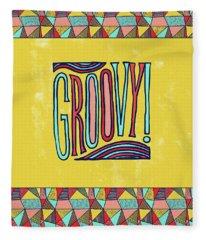 Groovy Fleece Blanket