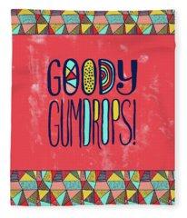Goody Gumdrops Fleece Blanket
