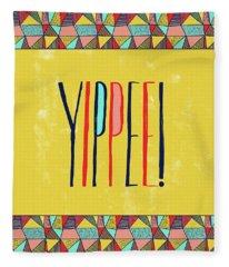 Yippee Fleece Blanket