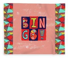 Bingo Fleece Blanket