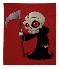 Little Reaper Fleece Blanket