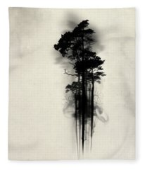 Mist Fleece Blankets
