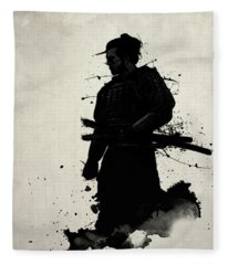Samurai Fleece Blanket
