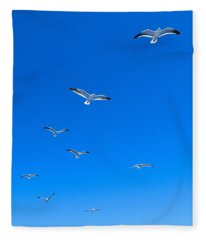 Ascending To Heaven Fleece Blanket