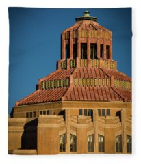 Asheville City Hall 1 Fleece Blanket