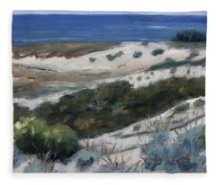 Asilomar Paint Out Fleece Blanket