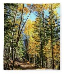 Aspen Trail Fleece Blanket