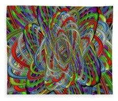 Astray Colors Fleece Blanket