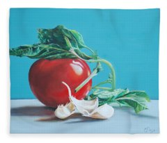 At Least We Still Have Tomatoes Fleece Blanket
