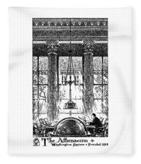 Athenaeum Reading Room Fleece Blanket