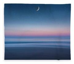 Atlantic Beach Predawn Elements Fleece Blanket