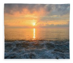 August Obx Sunrise Fleece Blanket