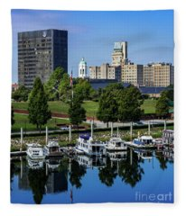 Augusta Ga Savannah River 3 Fleece Blanket