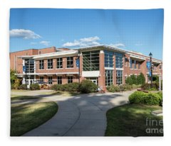 Augusta University Student Activity Center Ga Fleece Blanket