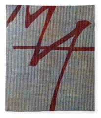 Authenticated Signature Fleece Blanket