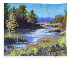 Autumn Brook Skech Fleece Blanket
