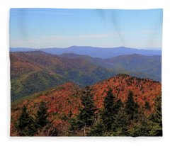 Autumn Coming Fleece Blanket