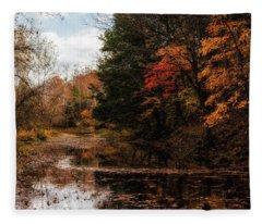 Autumn Creek Fleece Blanket