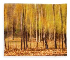 Autumn Dreaming Fleece Blanket