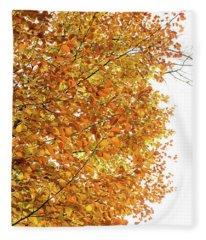 Autumn Explosion 2 Fleece Blanket