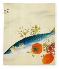 Autumn Fattens Fish And Ripens Wild Fruits - Digital Remastered Edition Fleece Blanket