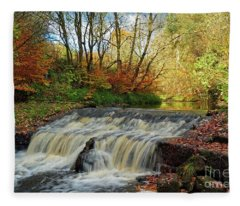 Autumn Flow Fleece Blanket