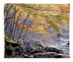 Autumn Glen Fleece Blanket