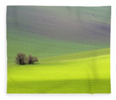 Autumn In South Moravia 13 Fleece Blanket