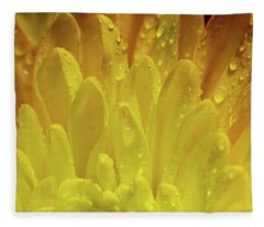 Autumn Macro-1 Fleece Blanket