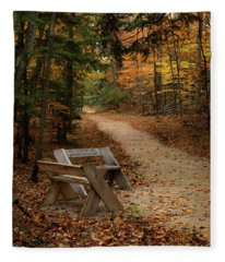 Autumn Meetup Fleece Blanket