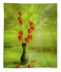 Autumn Still Life 2 Fleece Blanket