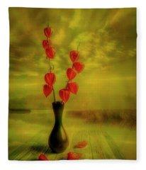 Autumn Still Life 3 Fleece Blanket