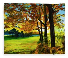 The Sun Will Rise With Healing In His Wings Fleece Blanket