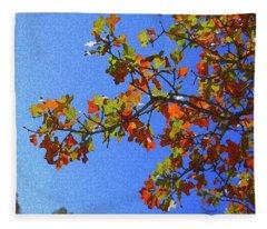 Autumn's Colors Fleece Blanket