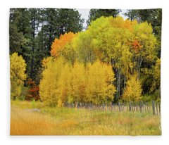 Autumn's Splendor Fleece Blanket