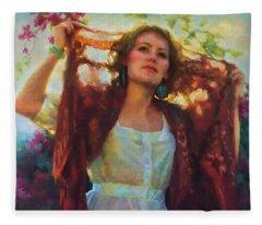 Awaken Fleece Blanket
