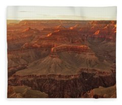 Fleece Blanket featuring the photograph Awash With Light by Rick Furmanek