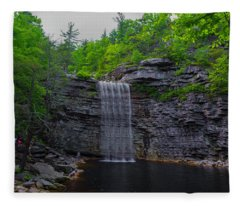 Awosting Falls Fleece Blanket