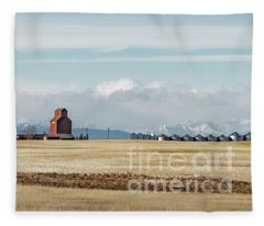 Azure Elevator Fleece Blanket