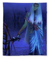 Azure Fleece Blanket