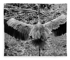 Time To Spread Your Wings Fleece Blanket